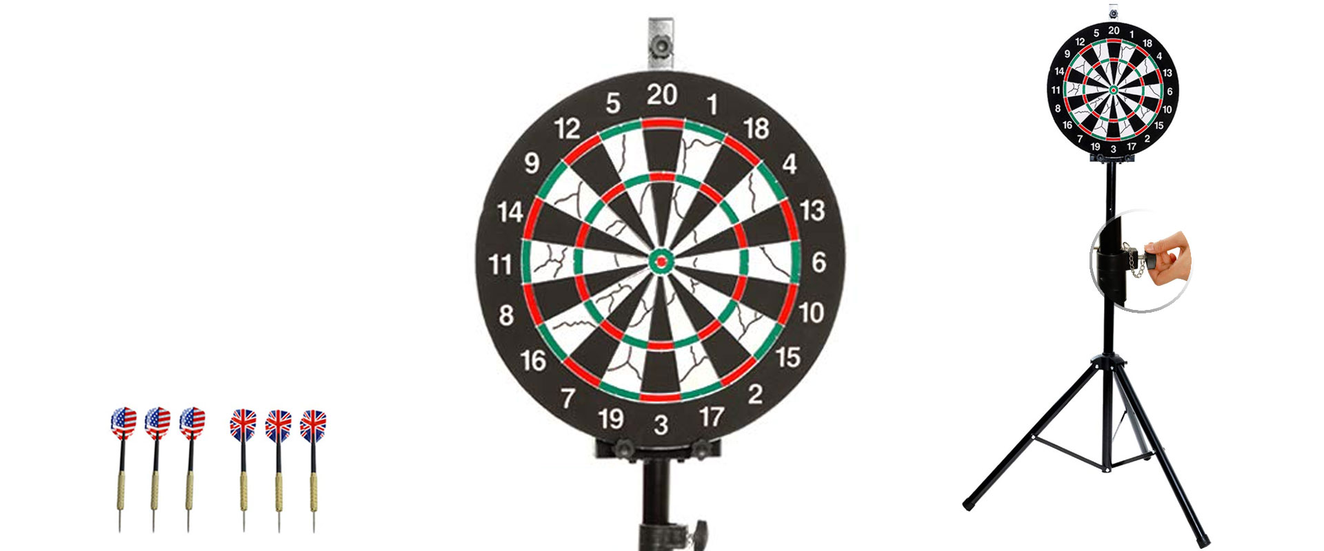 SPRAWL Portable Dart Board Stand